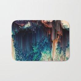 Cave of Wonders - Abstract Glitch Pixel Art Bath Mat