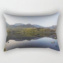 Llyn Ogwen Panorama Rectangular Pillow