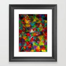 Pulsing Framed Art Print