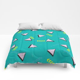 Memphis Pattern #8 Comforters