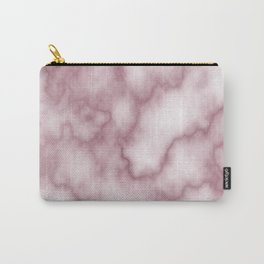 Pink Marbel Carry-All Pouch