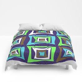 Retro Graphic Color Study Comforters