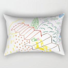 Multi peace Rectangular Pillow