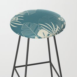 Tropical pattern 047 Bar Stool
