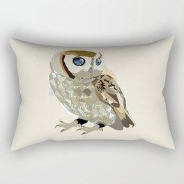 Blind Owl Rectangular Pillow