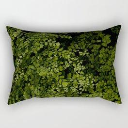 Small leaves Rectangular Pillow