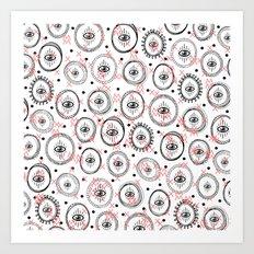 E.Y.E.S. ww Art Print