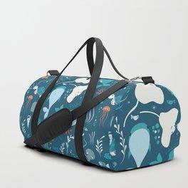 Sea creatures 004 Duffle Bag