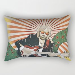 Wildflowers (Tom Petty Tribute Mural, Gainesville) Rectangular Pillow