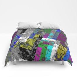 Textured Exclusion II Comforters