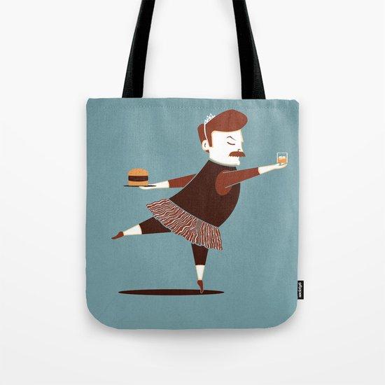 Libertarian Swan Tote Bag