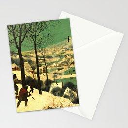 "Pieter Bruegel (also Brueghel or Breughel) the Elder ""Hunters in the Snow (Winter)"" Stationery Cards"