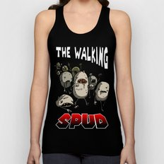 The Walking Spud Unisex Tank Top