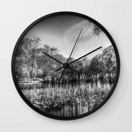 The Bulrush Pond Wall Clock