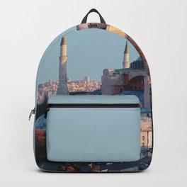 Hagia Sofia, Istanbul, Turkey Travel Artwork Backpack