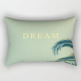 DREAM MORE. Rectangular Pillow