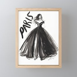 Paris Couture Framed Mini Art Print