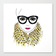 Alicia Frank Custom Canvas Print