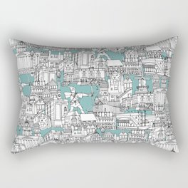 NOTTINGHAM BLUE Rectangular Pillow