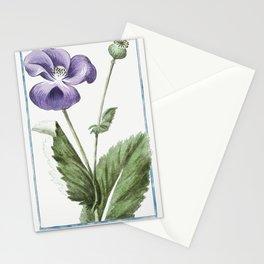 Papaver hortense nigro semine sylvestre Dioscoridis nigrum Plinii Ital Papavero negro Gall Pavot (ca Stationery Cards