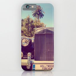 Hollywood Forever iPhone Case