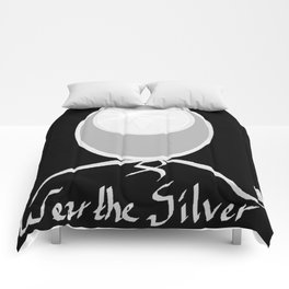 Wear the Silver Brain Cancer Awareness Comforters