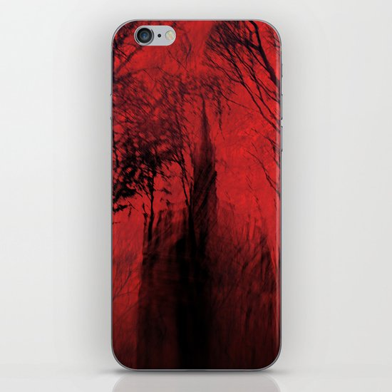Blood red sky iPhone & iPod Skin