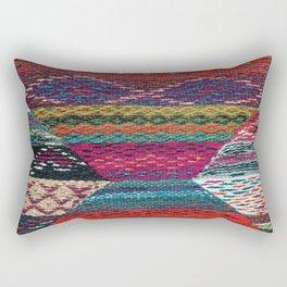 ARTERESTING V45 - Boho Traditional Moroccan Colored Design Rectangular Pillow