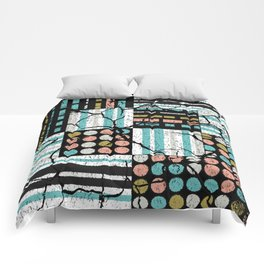 Distressed pattern Comforters