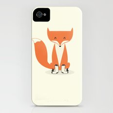 A Fox With Socks iPhone (4, 4s) Slim Case