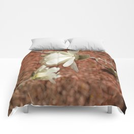 blossoming in spring Comforters