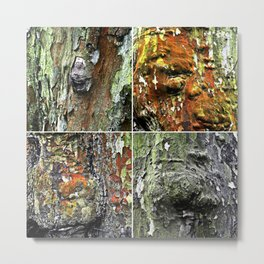 Tableau of Archetypal Structures Metal Print