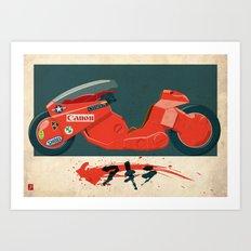 Kanedas Bike Art Print