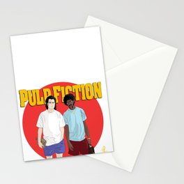 Pulp Fiction - Vincent & Jules Stationery Cards