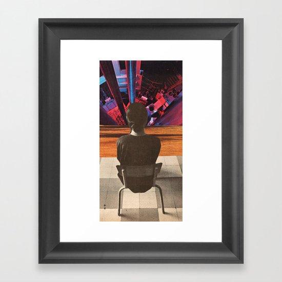 interrogation techniques Framed Art Print