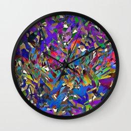 Coastal Beach Grasses Wall Clock