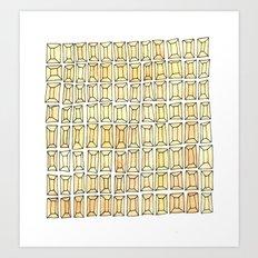 rhinestones 1 Art Print