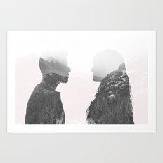 One in the Same Art Print