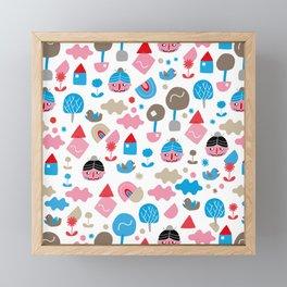 Fredrick n' friends holiday time Framed Mini Art Print