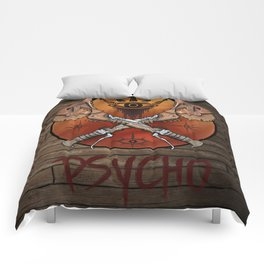Borderlands Psycho Buzz Axe Comforters