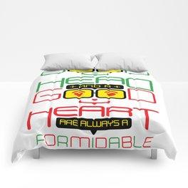 Typography Quote#13 Comforters