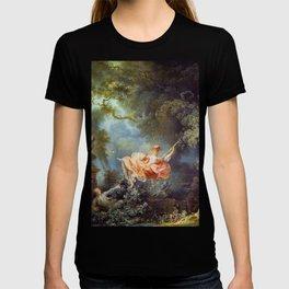 Jean-Honoré Fragonard - The Swing T-shirt
