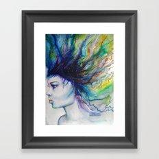 Let go of old dreams Framed Art Print