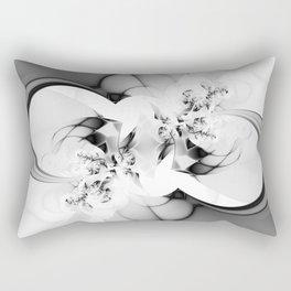 FRACTAL BLACK & WHITE Rectangular Pillow