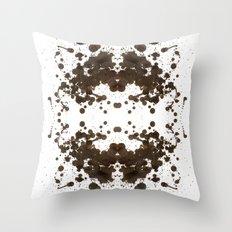 Symmetria Silver Throw Pillow
