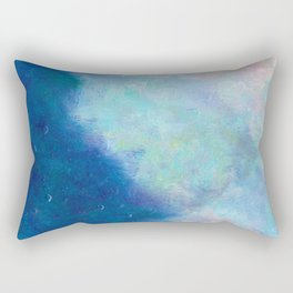 Distant Mountain- - 遠望 series - oil-paint Rectangular Pillow