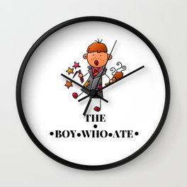 The Boy Who Ate - Ron Weasley Wall Clock