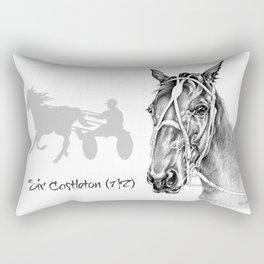 Sir Castleton (NZ) - Standardbred Rectangular Pillow