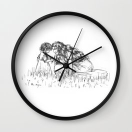Fantine and Cosette Wall Clock