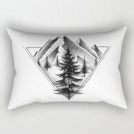 NORTHERN MOUNTAINS II Rectangular Pillow